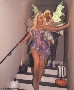 Kim Kardashian Halloween Costumes Kylie Jenner _ Costumes Kylie Jenner - New Ideas Kim Kardashian Halloween Costume, Badass Halloween Costumes, Looks Halloween, Trendy Halloween, Couple Halloween, Halloween Outfits, Scary Halloween, Mulan Halloween, Bratz Halloween Costume