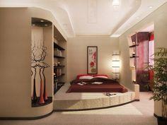 дизайн спальни с балконом фото