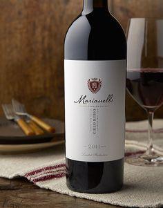 MarianelloSanger VineyardWine Label & Package Design #taninotanino #vinosmaximum