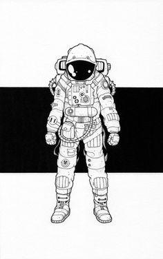 The astronaut.