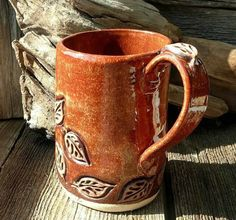Pottery Mug by MarlasMud on Etsy