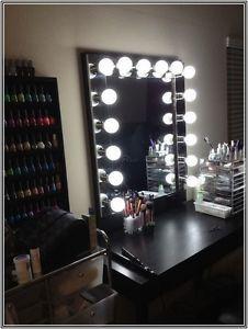 led vanity mirror tutorial vanity with lightsbulb