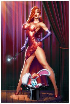 Jessica Rabbit by Valzonline.deviantart.com on @deviantART