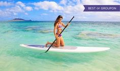Groupon - One- or Two-Hour Paddleboard Rental with Instruction from Miami Beach Paddleboard (Up to 67% Off)  in Miami Beach Marina. Groupon deal price: $19