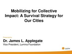 Mobilizing for Collective Impact