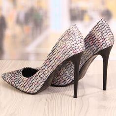 Poze Pantofi Stiletto Dihan Negrii Cod: 711