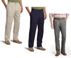 These pants are a thinner / lighter material. Sits on waist/ Easy through thigh/ Straight leg opening. Mens Chino Pants, Dockers Pants, Mens Dress Pants, Men's Pants, Golf Pants, Khaki Slacks, Trench Coat Men, Pleated Pants
