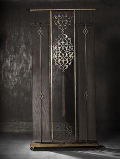 Rumi by Deniz Tunç Floor Screen Decor, Furniture Design, Wall Decor, Screen, Chinoiserie, Folding Screen, Home Decor, Wall Design, Wall Paneling