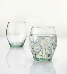 These recycled glass tumblers are perfect for an evening Pimms or Gin and Tonic as the sun sets. Wine Glass, Glass Vase, Gin And Tonic, Recycled Glass, Fair Trade, Recycling, Home And Garden, Tumblers, Tableware