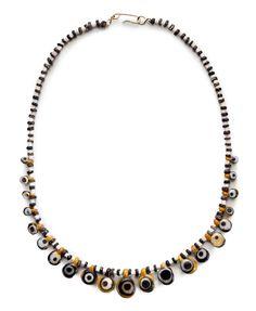 An Egyptian glass eye-bead necklace, New Kingdom, 19th Dynasty, circa 13th century BC-12th century BC. Estimate, $1,500-$2,000. | via Christie's