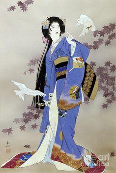 Sachi Painting by Haruyo Morita