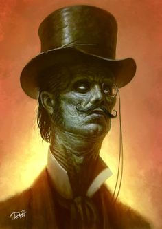 Gorgeously Grotesque Horror Art by Tattoo Artist Dennis Carlsson