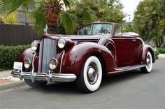 1933 Packard Twelve Pheaton