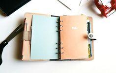 DIY Filofax Planner Vision Board & cool defonics wood pen/pencil / Seaweed Kisses