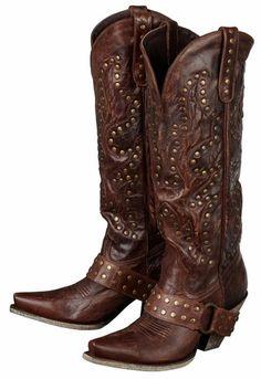 Lane Boots  Stud Rocker  from Langston s Western Wear Stivali Con Parti In  Maglia cd576326019