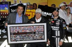 PHOTOS (May 12, 2012): Hendrick Motorsports wins 200th Cup race: Part one. More: http://www.hendrickmotorsports.com/news/photos/2012/05/13/Johnson-wins-200th-Cup-victory-for-Hendrick-Motorsports#.