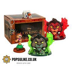 Disney Treasure Collectors Box The Lion King Scar With Flames Disney Pop, Disney Stars, Funko Figures, Pop Vinyl Figures, Disney Treasure Box, Lion King Toys, Scar Lion King, Mickey Mouse Toys, Funko Pop Dolls
