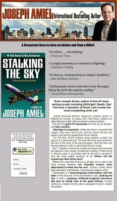 A killer is STALKING THE SKY! A Desperate Race to Save an Airline and Stop a Killer! http://www.amazon.com/dp/0985314494/ref=cm_sw_r_pi_dp_NtZRsb1103YFNR5N