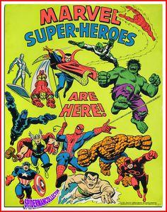 Marvel Super-Heroes!!!