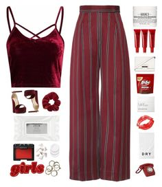 """""""N U M B E R 22"""" by wild-thngs ❤ liked on Polyvore featuring Steve Madden, Kiehl's, Stila, BCBGMAXAZRIA, NARS Cosmetics, Lucas' Papaw Ointment, Topshop, Bobbi Brown Cosmetics, DKNY and CO"""