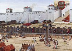 """""""Siege of Syracuse, 214-212 BC"""", Seán Ó'Brógáin; La Pintura y la Guerra. Sursumkorda in memoriam"""