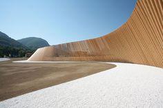 Cino Zucchi architects + studio d'ingegneria Mauri & Banci - Opere di mitigazione ambientale all'ingresso della galleria Vedeggio–Cassarate (portale Cassarate)