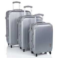 McBrine 3-piece Hardside Luggage Set