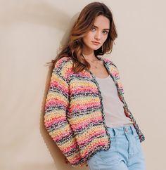 44 meilleures images du tableau Beaux pulls   Baby knitting, Casual ... 8067a656e48