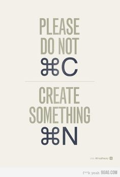 Create something new!
