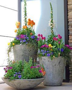 Beautiful arrangement for spring