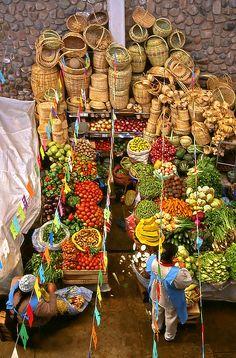 Mercado artesanal.