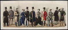 1860s fashion plates men - Google Search