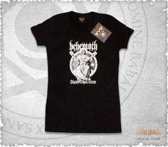 """Behemoth """"Slaves Shall Serve"""" girlie t-shirt"""