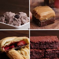 The 3 Week Diet Weightloss - Chocolate Desserts - A foolproof, science-based diet.Designed to melt away several pounds of stubborn body fat in just 21 libras en 21 días! Easy Desserts, Delicious Desserts, Dessert Recipes, Yummy Food, Quick Dessert, 3 Ingredient Desserts, 3 Ingredient Brownies, Three Ingredient Recipes, Chocolate Desserts