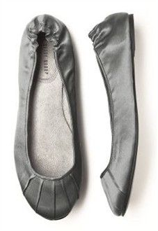 Charcoal Grey Ballet Shoes - Perfect for Bridesmaids - Available in Over 20 Colors! - Bridal Ballet Flats and Slippers - Wedding Ballet Flats