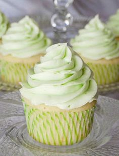 Key Lime Cupcakes by The Real Housewives of Riverton.