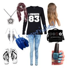 """""""My supernatural"""" by smsswimmer on Polyvore featuring Bling Jewelry, Zara, Spacecraft and Sole Society"""