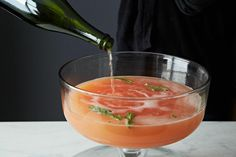 How to Make Holiday Punch Without a Recipe - 2 parts booze : 2 parts wine : 2 parts juice (optional) : 1/2 to 1 part sweet