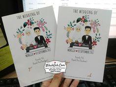 Wedding Cards, Diy Wedding, Dream Wedding, Wedding Couple Cartoon, Invitation Cards, Wedding Invitations, Wedding Hijab, Wedding Couples, Banner