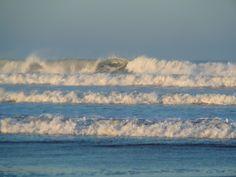 Waves at Summerleaze Beach #Bude