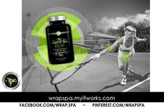 Be ready to serve up an ace like a pro when you keep your joints healthy and flexible with #Relief. #WrapSpa  JOIN MY FB PAGE: www.facebook.com/wrap.spa  TO VIEW THIS ALBUM: https://www.facebook.com/media/set/?set=a.679800795423498.1073741904.494064983997081&type=3&uploaded=4  More Info/VIDEO: http://www.pinterest.com/wrapspa/it-works-relief-wrapspamyitworkscom/  Retail: $49 Loyal Customer: $29  TO ORDER: http://wrapspa.myitworks.com/es/shop/product/307/