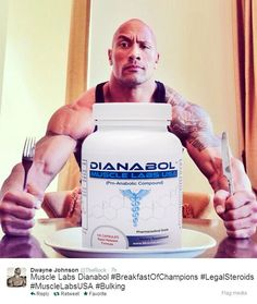 The Rock uses it! Dianabol for fast muscle gain and increased strength #crazybulk #fitnessfreak
