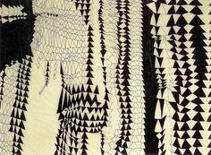 early Ruth Asawa drawing