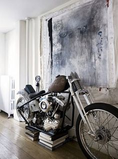 old motorcycle!