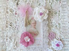 Marie Antoinette  Art Card Mixed Media  by CrossStitchElizabeth