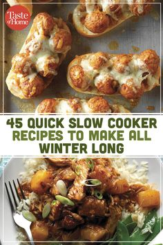 45 Quick Slow Cooker Recipes To Make All Winter Long Crockpot Dishes, Crock Pot Slow Cooker, Crock Pot Cooking, Easy Cooking, Slow Cooker Recipes, Crockpot Recipes, Cooking Recipes, Barbecue Recipes, Oven Recipes