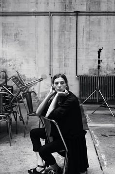 Daria werbowy mathieu cesar photographer behind the scenes by claudia revidat http://cargocollective.com/claudiarevidat/ marie claire russia may 2014 celine