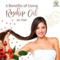 Rosehip Oil For Hair, Rosehip Oil Uses, Rosehip Oil Benefits, Rosehip Recipes, Girls Secrets, Organic Oils, Essential Oils For Hair, Hair Growth Oil, Health And Beauty Tips