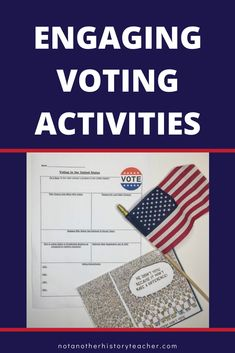 Every year when I teach my government class my students are super excited to learn about voting in America. I teach them about the voting process and how important it is to our democracy through this voting lesson.