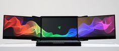 Razer revela portátil com três monitores